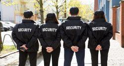 Özel güvenlik görevlileri