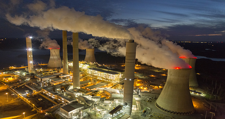 Enerji santrali güvenlik personeli